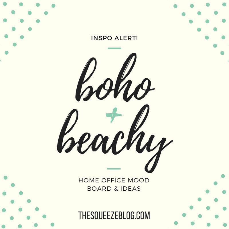 boho beach-chic mood board